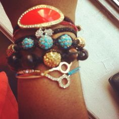 loving the sparkly stack that @yougotstyle is wearing! #showusyoursparkle