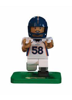 OYO NFL Cincinnati Bengals Gen4 Limited Edition Jeremy Hill Mini Figure White Small