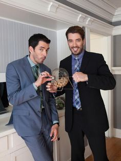 May the Odds Ever Be in Your Favor - Go Behind the Scenes With Property Brothers Drew and Jonathan Scott on HGTV