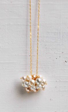 PEARL Cloud NECKLACE
