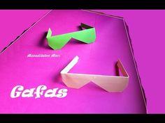 Origami - Papiroflexia. Gafas de sol muy fácil.