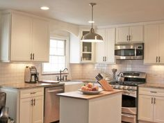 Explore your options for Shaker kitchen cabinets and browse inspirational pictures from HGTV Remodels.