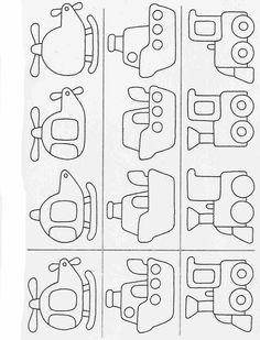 Actividades para niños preescolar, primaria e inicial. Fichas para imprimir en las que tienes que completar los dibujos y colorearlos para niños de preescolar y primaria. Completar y Colorear. 31