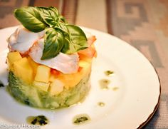 Lobster Avocado Mango Salad Recipe -- Pendle hoopes | Southwest Girl