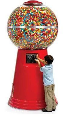 6 foot gumball machine
