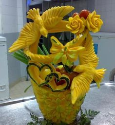 Food carving Uploaded by user