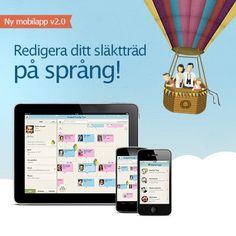 Släktforska med vår kostnadsfria mobilapp. http://www.myheritage.se/myceleb?mode=site