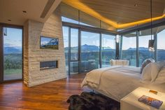 Jaw-dropping cliffside home with ultra-modern design in Telluride