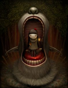 Fairy Tales and Miscellaneous by Anton Semenov, via Behance