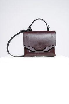 Burgundy Color, Leather Bags Handmade, Italian Leather, Dust Bag, Shoulder Strap, Maroon Color