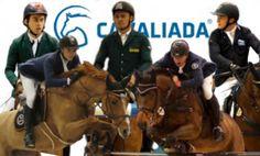 Zawodnicy-Cavaliada fot Koń Polski