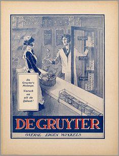 De Gruyter:Oude Hollandse reclameposters