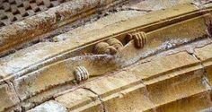 "pagewoman: ""Medieval humour c1050 Abbey of Sainte Foy, Conques, France "" Excellent"