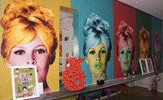 Brigitte Bardot pop art (Déborah Veras) Tags: brazil brasil bistro popart recife pernambuco nordeste nailbar brigittebardot clubbardot
