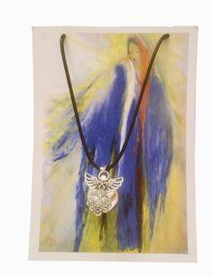 Chiama angeli-Angelo Custode Angelo, Pendant Necklace, Painting, Jewelry, Art, Art Background, Jewlery, Bijoux, Painting Art