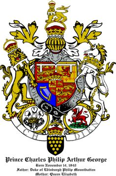 prince charles- coat of arms