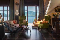 Восхитительный интерьер российского декоратора на озере Лаго-Маджоре в Италии | Пуфик - блог о дизайне интерьера