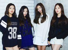 Red Velvet - ize Magazine December Issue '14