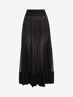 ALEXANDER MCQUEEN Long Knit Skirt Skirt D f