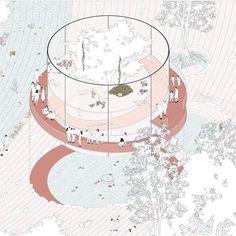 Authoring nature - a fable of Singapore Architecture Presentation Board, Colour Architecture, Architecture Collage, Architecture Graphics, Architecture Drawings, Urban Design Diagram, Mc Escher, Concept Diagram, 3d Drawings