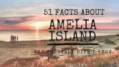 Amelia Island is one of the most scenic areas of Florida. Here are 51 things that most people — even natives — may not know about this beautiful island. Amelia Island Map, Amelia Island Florida, Places To Travel, Places To See, Fernandina Beach Florida, Winter Haven Florida, Places In Florida, Florida Travel, Florida Trips