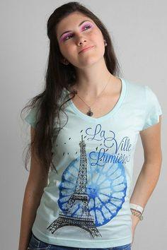 Camiseta La Ville Lumière