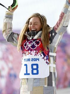 Jamie Anderson wins women's slopestyle gold - USA TODAY #Anderson, #Slopstyle, #Gold