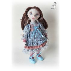 Textile doll art doll. Fabric Doll. Beautiful doll. Cute