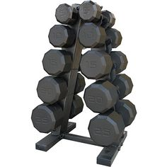 With the CAP Barbell 150lb Dumbbell Weight Set with Rack from GNC Live Well, you won't have to go to the gym to workout.  // Con el set de pesas de 150 libras CAP Barbell con repisa de GNC Live Well, ¡no vas a necesitar salir de tu casa para ejercitarte!
