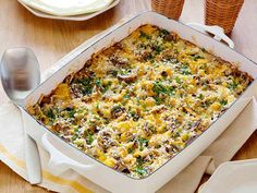 Hash Brown Casserole: Start your day off right with this healthy, yet tasty recipe.
