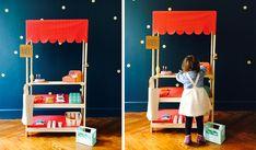 Voici notre sélection de tutoriels pour fabriquer à vos enfants des jouets en bois sans composés chimiques toxiques. À vos outils ! Diy For Kids, Gifts For Kids, Shopping Games, Diy Cadeau Noel, Diy Kids Furniture, Diy Games, Diy Christmas Gifts, Home Improvement Projects, Wooden Toys