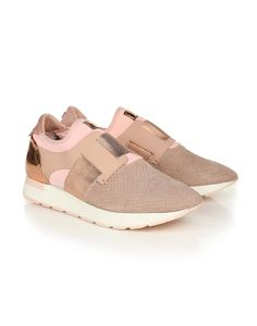 a281d6dc7 Ted Baker Women s Kygoa Leather Trainers - Light Pink