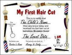 haircut gift certificate template - pinterest the world s catalog of ideas