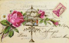 Large digital download Paris est. 1897 by CottageRoseGraphics