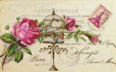 Large digital download Paris est. 1897 by CottageRoseGraphics
