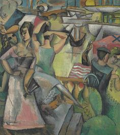 Andre Lhote (1885-1962) Escale