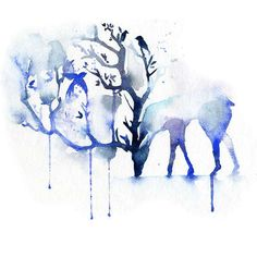 Trees Grow Toward The Moon - Old soul - More on http://blule.fr/colourupyourday