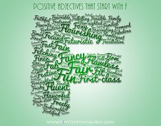 13 Best My Letter Adjectives Images List Of Positive Adjectives