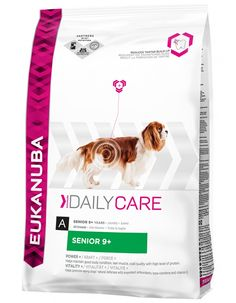 Eukanuba Senior Plus It contains ingredients to help support body condition organ function digestive health joint care and immune system for those older dogs requiring a little extra special nutrients in their diet. Dog Food Ratings, Dog Food Reviews, Dog Food Coupons, Dog Food Comparison, Dog Food Recall, Dog Food Container, Dog Ages, Dog Food Brands, Dog Food Storage