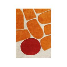 Found it at AllModern - Tualatin Hand-Tufted Orrange Area Rug