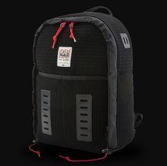 TOPO DESIGNS X WOOLRICH SPAN DAYPACK BLACK WAFFLE Black Backpack ba70f65f2136f