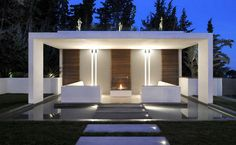 Good Pics outdoor kitchen pavillion Style Backyard kitchem style and design is tremendously money-making in your house design industry. In accordance wi. Modern Pool House, Modern Gazebo, Modern Pools, Backyard Patio Designs, Pergola Designs, Outdoor Spaces, Outdoor Living, Outdoor Seating, Outdoor Ideas