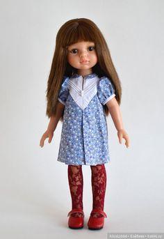 Платьице на девочек от Паола Рейна / Одежда для кукол / Шопик. Продать купить куклу / Бэйбики. Куклы фото. Одежда для кукол