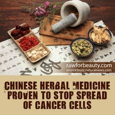 Chinese herbal medicine proven to stop spread of cancer cells