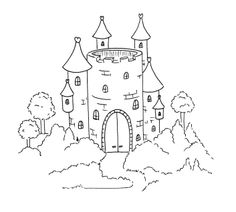 Sliekje digi Stamps: More backgrounds Digital Stamps, Digital Scrapbooking, Fairytale Castle, Kids Calendar, Nursery Rhymes, Coloring Pages, Fairy Tales, Art Projects, Embroidery