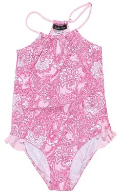 Stella Cove | Paisley Pink Swimsuit Size 3y 4y & 7y