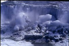 Niagara Falls Frozen Solid 1932 | Recent Photos The Commons Getty Collection Galleries World Map App ...
