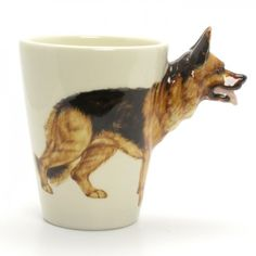 German Shepherd Dog Mug (from Artfire) - Great mug. My father-in-law used to have this dog.