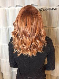 Copper hair done by Manda Heath @salamanda21