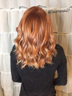 Copper hair done by Manda Heath @salamanda21